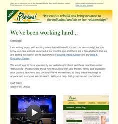 Renewal Center Newsletter