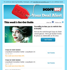 Score Big Newsletter