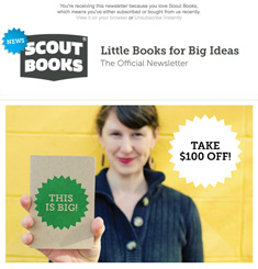 Scout Books Newsletter