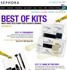 Sephora Newsletter