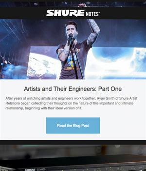 Shure Newsletter
