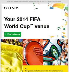 Sony Newsletter