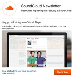 Sound Cloud Newsletter