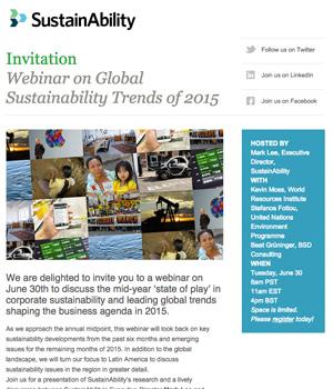 Sustain Ability Newsletter