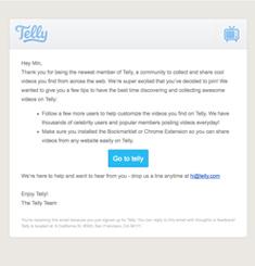 Telly Newsletter