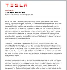 Tesla Newsletter