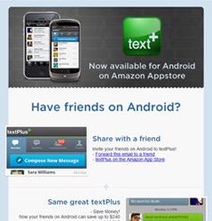 Text Plus Newsletter