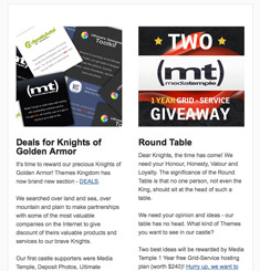 Themes Kingdom Newsletter