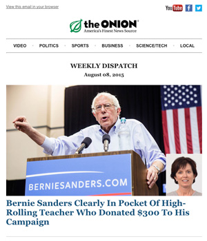 Onion Newsletter