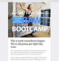 The Raw Food Institute Newsletter