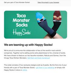 Toca Boca Newsletter