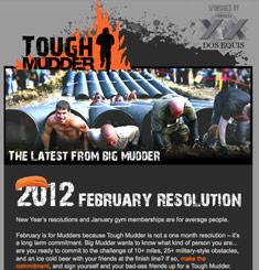 Tough Mudder Newsletter