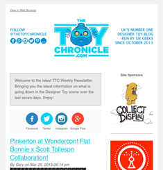 Toy Chronicle Newsletter
