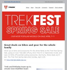 Trek Newsletter