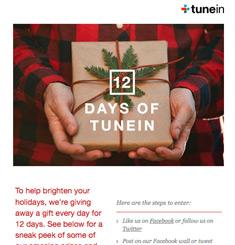 Tune In Newsletter