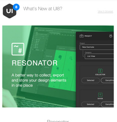 UI8 Newsletter