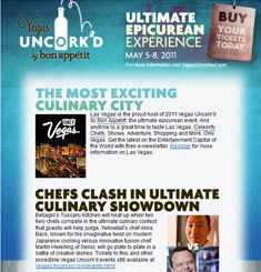 Vegas Uncorked Newsletter