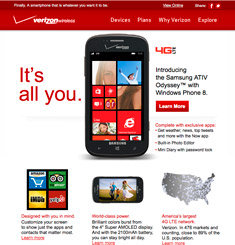 Verizon Wireless Newsletter