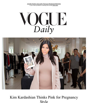 Vogue Newsletter