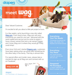 Wag Newsletter