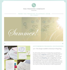 The Wedding Company Newsletter
