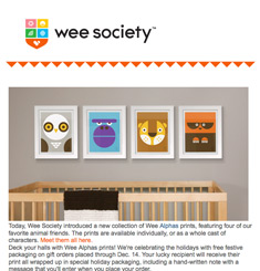 Wee Society Newsletter