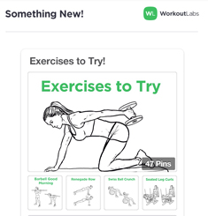 Workout Labs Newsletter