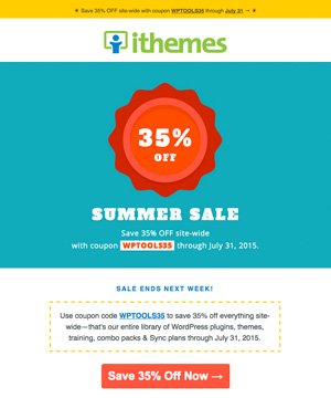 iThemes Newsletter