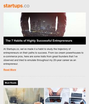 Startup Co Newsletter