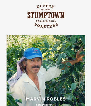 Stumptown Coffee Newsletter
