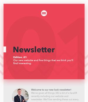 383 Newsletter