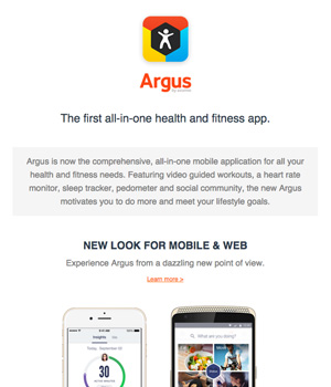 Argus App Newsletter