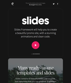 Designmodo Slides Newsletter
