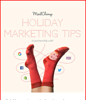 Mailchimp Holiday Newsletter