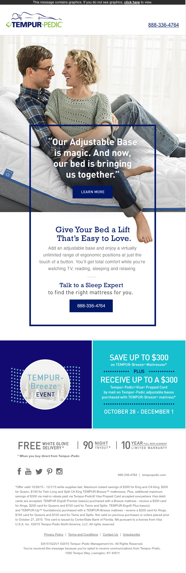 tempurpedic-newsletter
