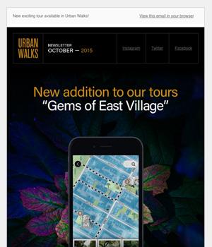 Urban Walk Newsletter