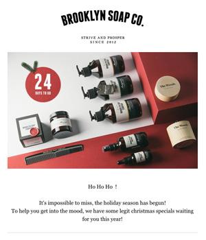 Brooklyn Soap Co Newsletter