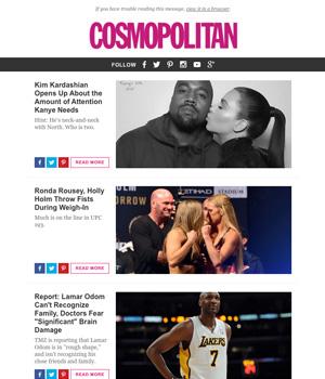 Cosmopolitan Newsletter