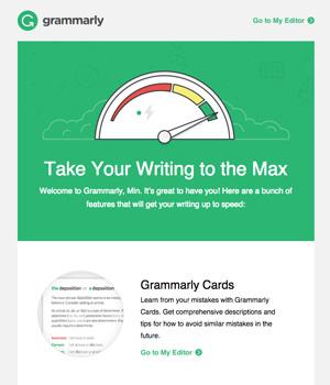 Grammarly Newsletter