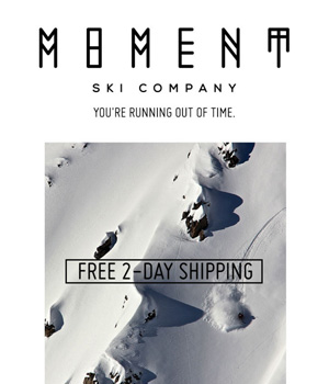 Moment Ski Company Newsletter