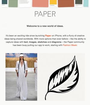 Paper App Newsletter
