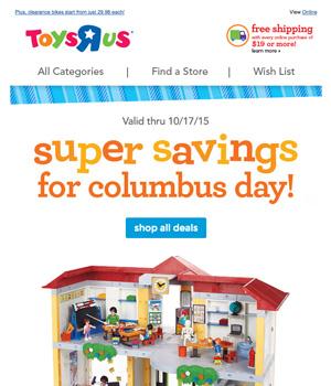 Toys R Us Newsletter