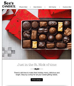 See's Candies Newsletter