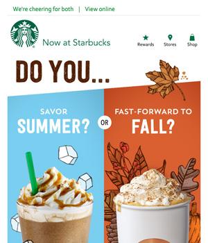 Starbucks Newsletter