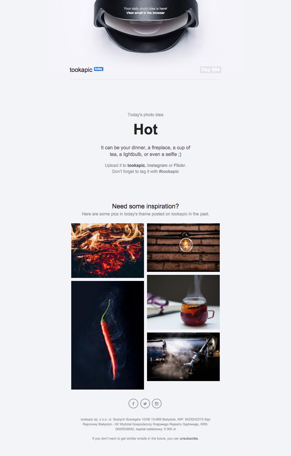tookapic-newsletter