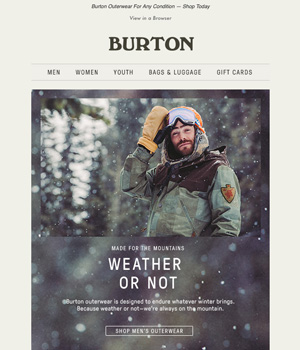 Burton Newsletter