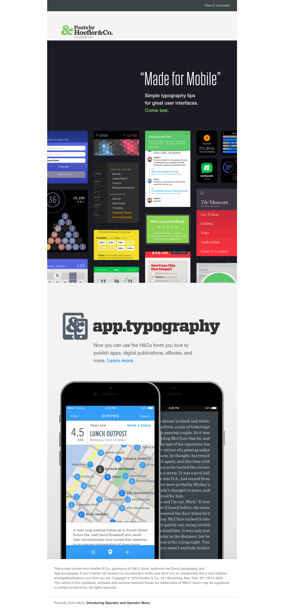 typography-newsletter
