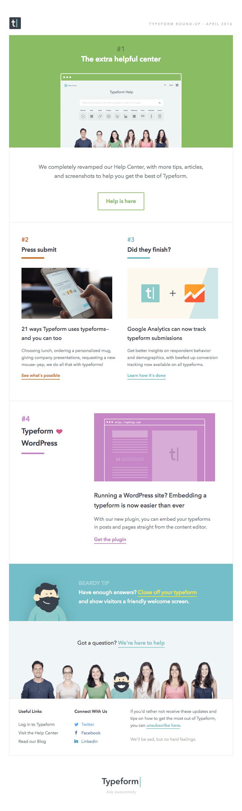 typeform-newsletter