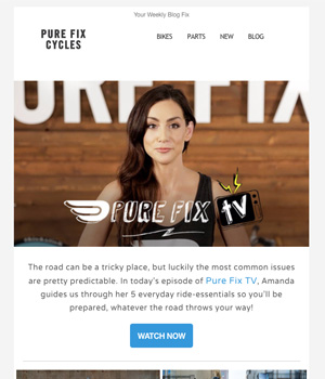 Pure Fix Cycle Newsletter