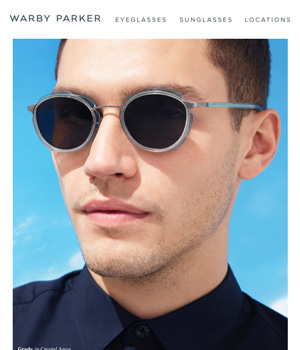 Warby Parker Newsletter